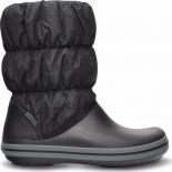 Crocs™ Winter Puff Boot Juoda/Pilka