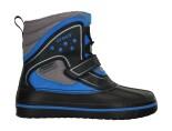Crocs™ Kids' AllCast WaterProof Duck Boot Black/Ocean