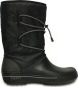 Crocs™ Crocband II.5 Cinch Boot Black/Charcoal