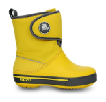 Crocs™ Kids' Crocband II.5 Gust Boot Yellow/Charcoal