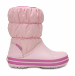 Crocs™ Kids' Winter Puff Boot Ballerina Pink/Wild Orchid