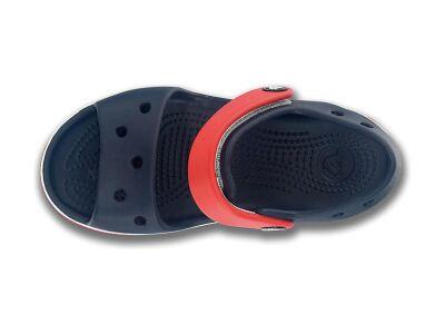 Crocs™ Kids' Crocband Sandal Tume sinine/Punane