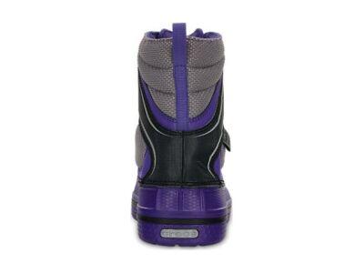 Crocs™ Kids' AllCast WaterProof Duck Boot Ultraviolet/Must
