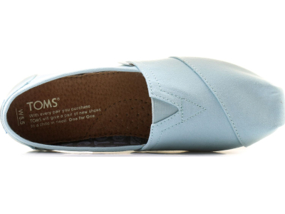 TOMS Canvas Women's Alpargata Canal Blue