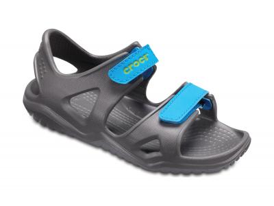 Crocs™ Kids' Swifwater River Sandal Slate Grey/Ocean