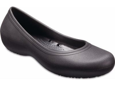 Crocs™ Kadee II Work Flat Black