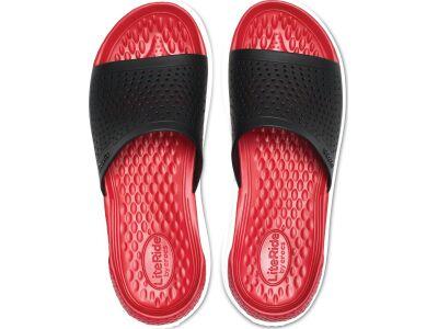 Crocs™ LiteRide Slide Black/White