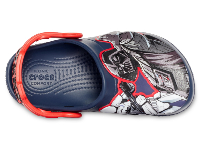 Crocs™ Kids' Funlab Star Wars Dark Side Clog Navy