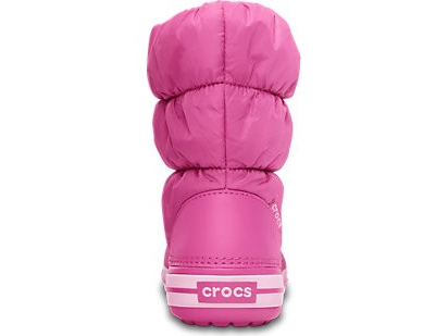 Crocs™ Kids' Winter Puff Boot Ere roosa/Hele roosa