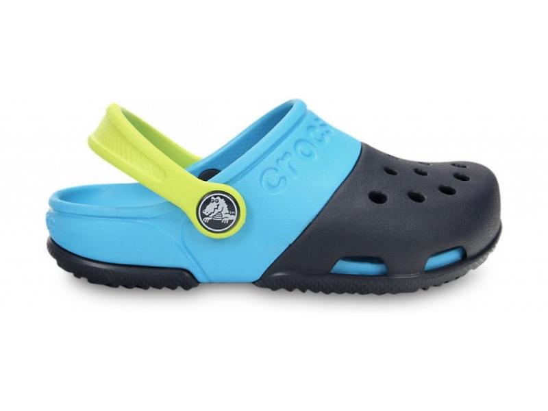 Crocs™ Kids' Electro II Clog Tume sinine/Hele sinine