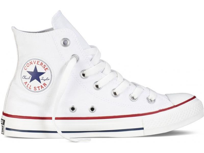 Converse Chuck Taylor All Star Hi Valge/Valge
