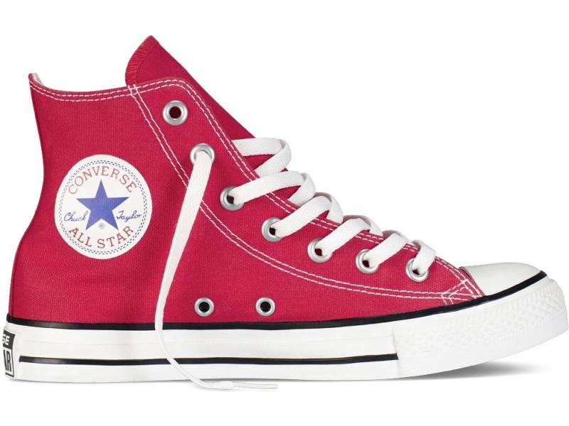Converse Chuck Taylor All Star Hi Punane/Valge