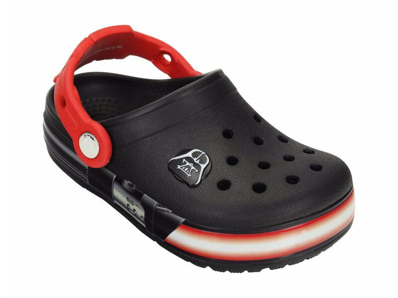 Crocs™ Kids' Crocslights Star Wars Darth Vader Clog Black/Flame