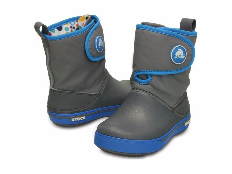 Crocs™ Kids' Crocband II.5 Gust Boot Charcoal/Ocean