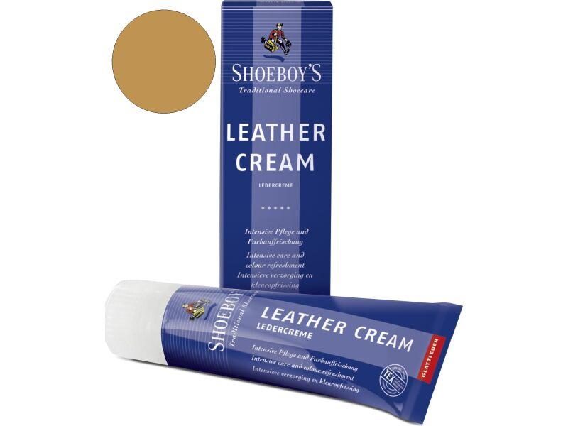 Shoeboy's Leather Creme 75ml Kaamelivärvi