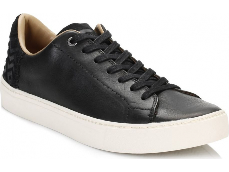 TOMS Leather Men's Lenox Black