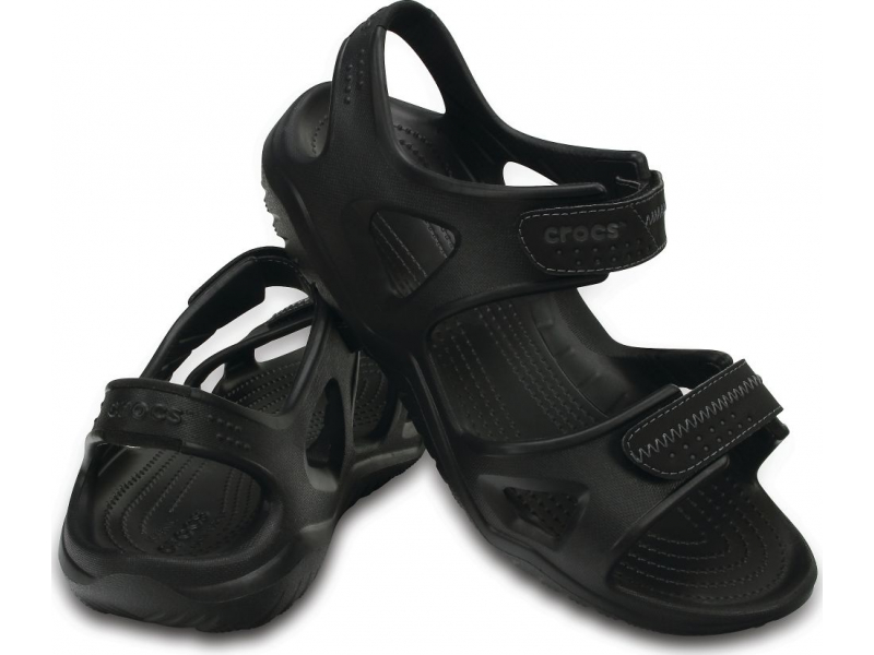 Crocs™ Swiftwater River Sandal Black/Black