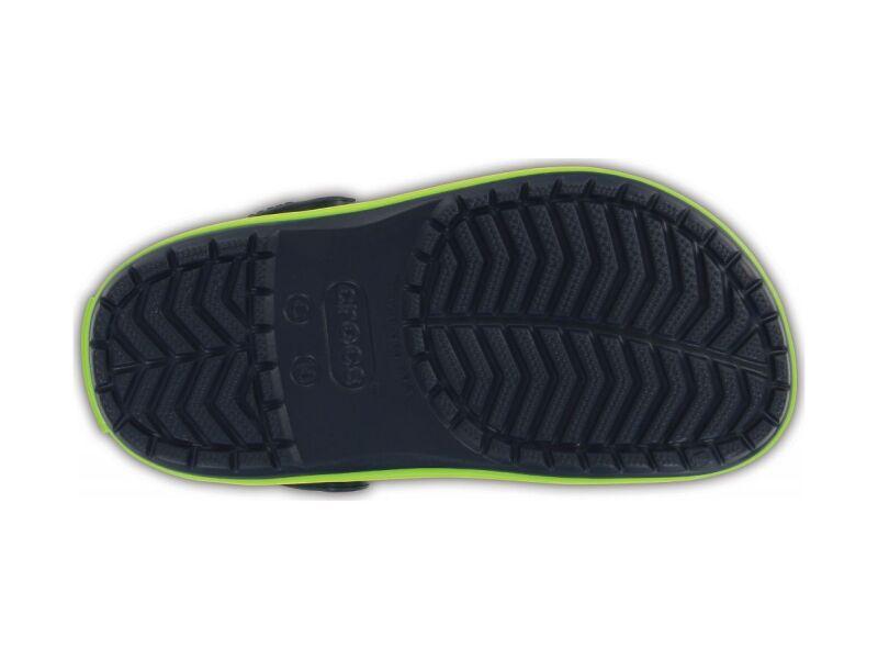 Crocs™ Kids' Crocband Clog Navy/Volt Green