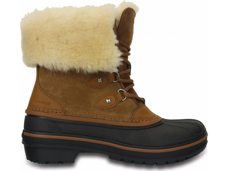 Crocs™ AllCast II Luxe Boot Women's Wheat