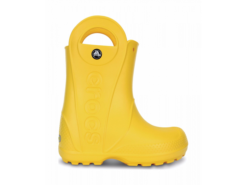 Crocs™ Kids' Handle It Rain Boot Kollane