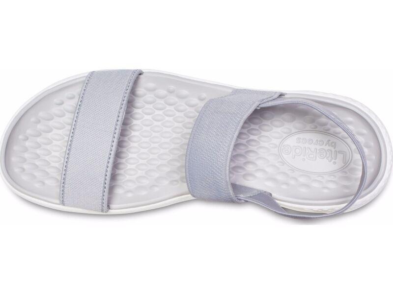 Crocs™ Women's LiteRide Sandal Light Grey/White
