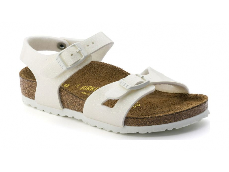 Birkenstock Rio Kids Magic Galaxy White