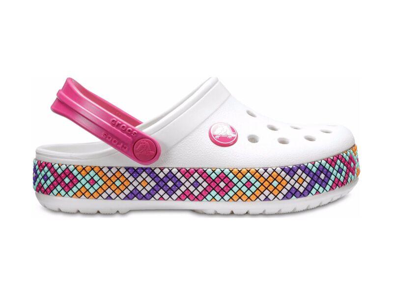 Crocs™ Kids' Crocband Gallery Clog Oyster