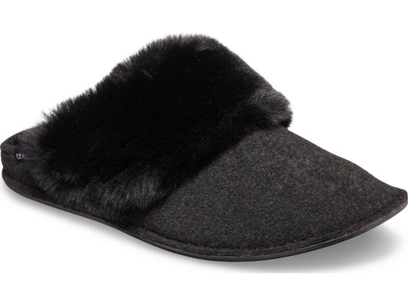 Crocs™ Classic Luxe Slipper Black