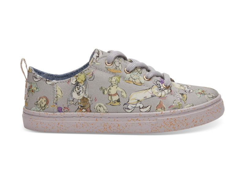 TOMS Seven Dwarfs Canvas Junior's Lenny Sneaker Grey