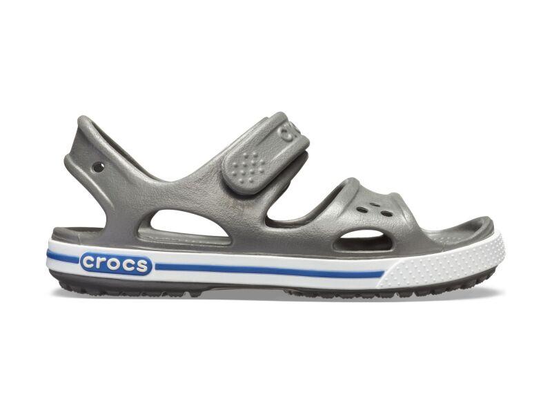Crocs™ Kids' Crocband II Sandal PS Slate Grey/Blue Jean