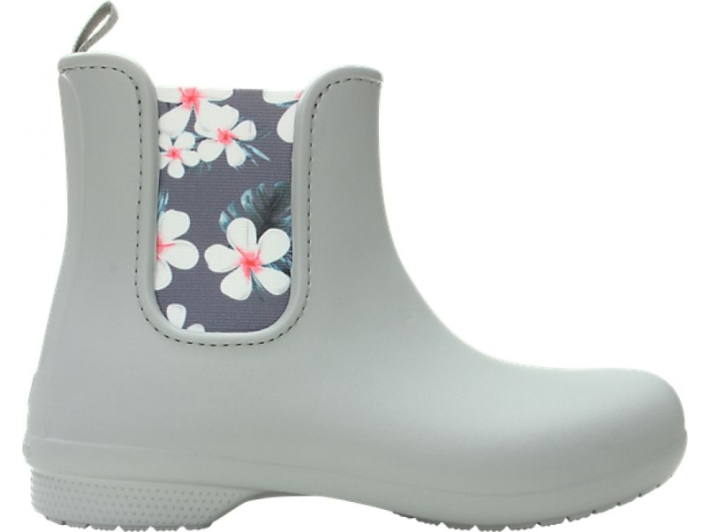 Crocs™ Freesail Chelsea Boot Tropical Floral/Light Grey