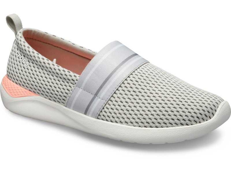 Crocs™ LiteRide Mesh Slip-On Women's Pearl White/White