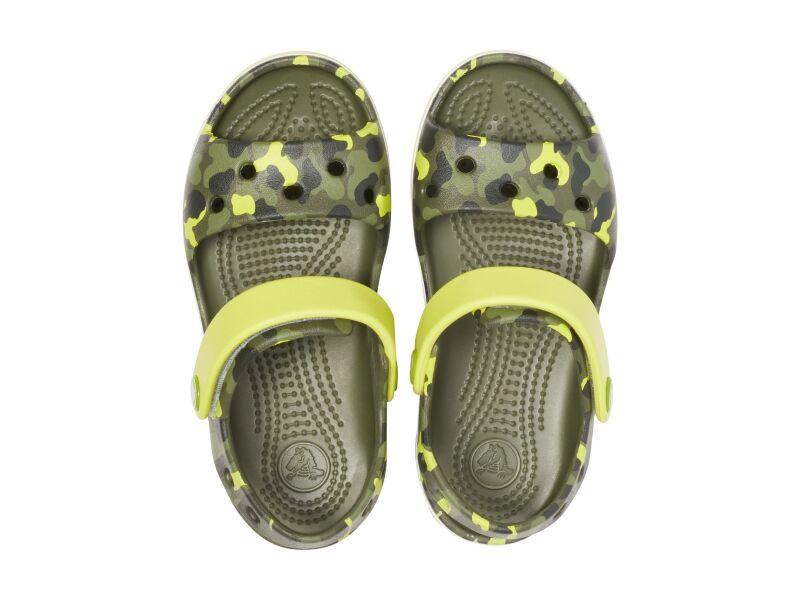 Crocs™ Crocband Seasonal Graphic Sandal Kid's Citrus