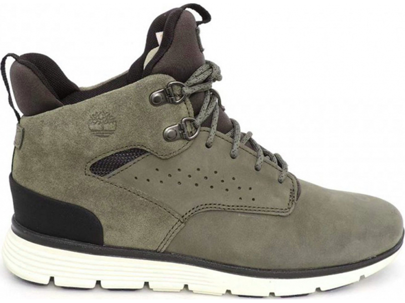 Timberland Killington Hiker Chukka Junior's Dark Green Nubuck