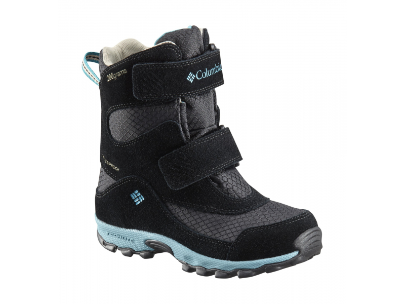 Columbia Parkers Peak Velcro Boot Black/Pacific Rim
