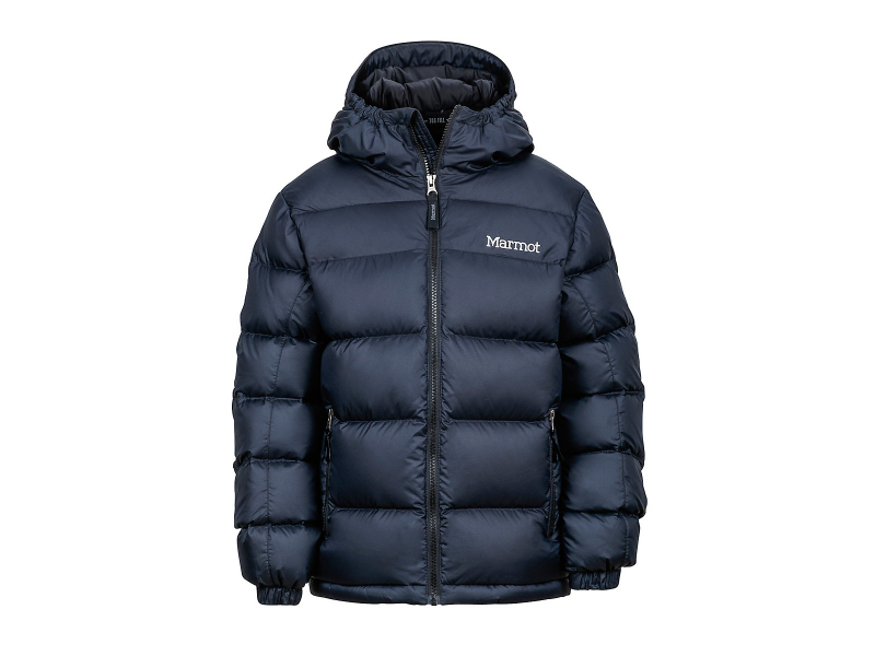 Marmot Boy's Guides Down Hoody Black