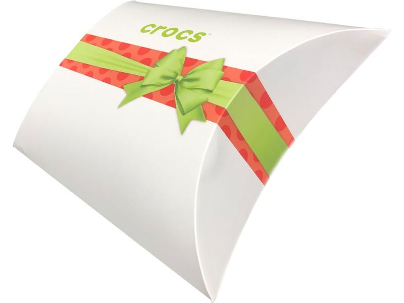 Christmas paper box CROCS White