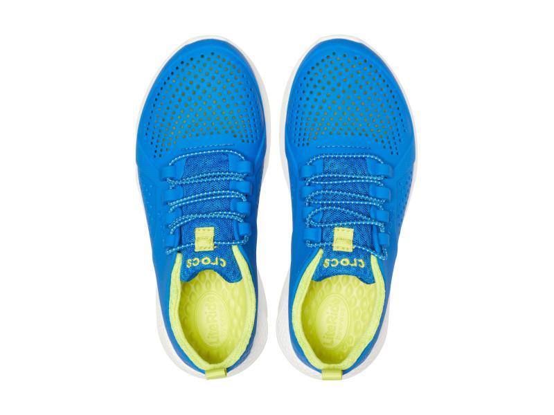 Crocs™ LiteRide Pacer Kid's Bright Cobalt/Citrus
