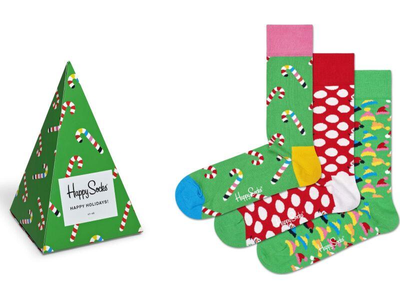 Happy Socks Holiday Tree Gift Box Multi 7004