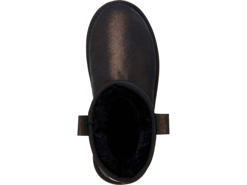 EMU Australia Foy Flatform Metallic Black