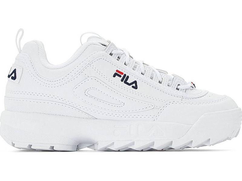 FILA Disruptor Low White