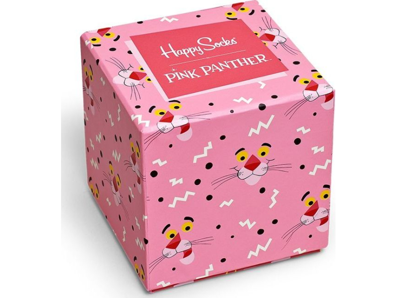 Happy Socks Pink Panther Sock Box Multi 9300