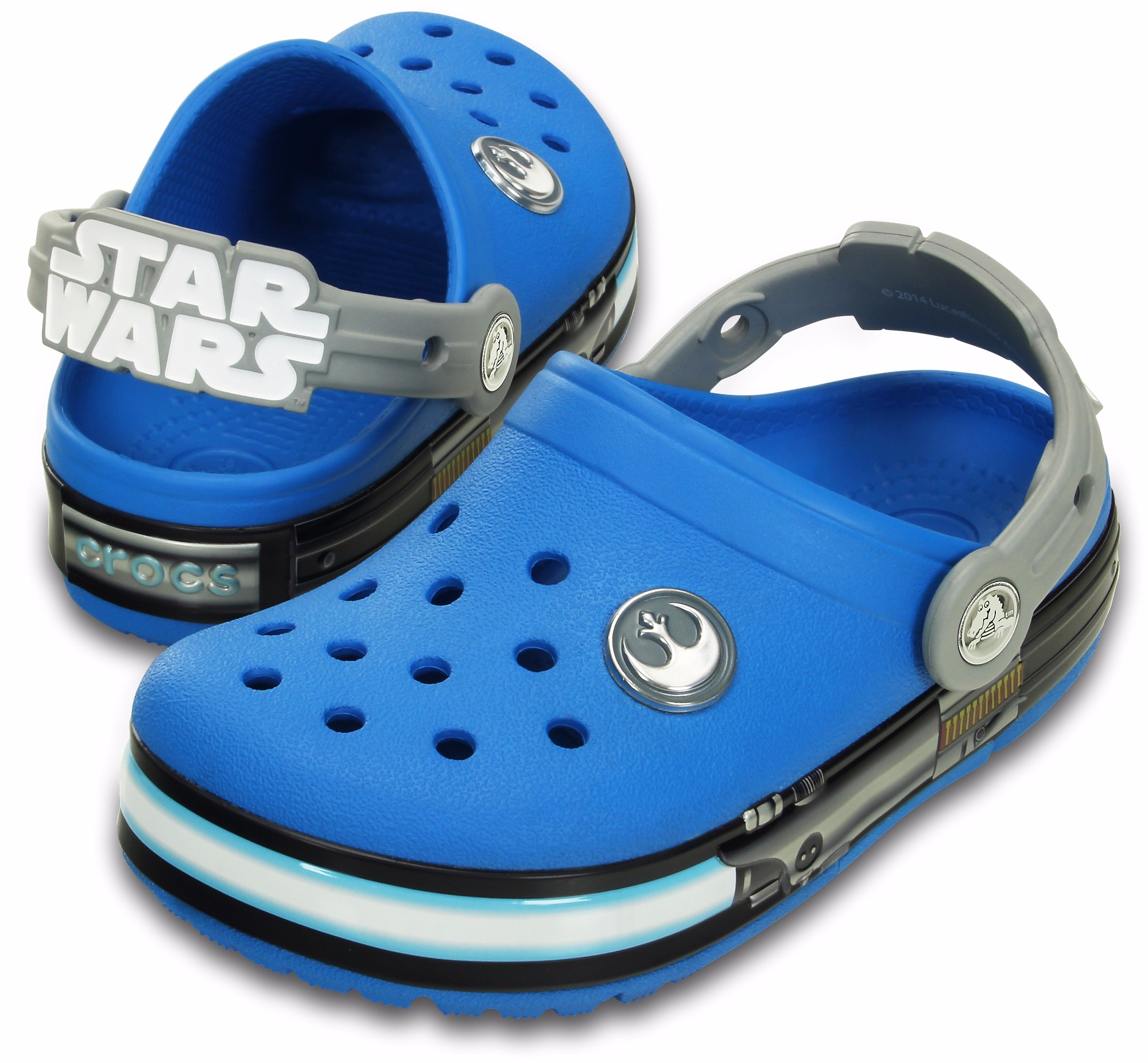 Crocs Kids Crocslights Star Wars Jedi Clog Open24 Ee