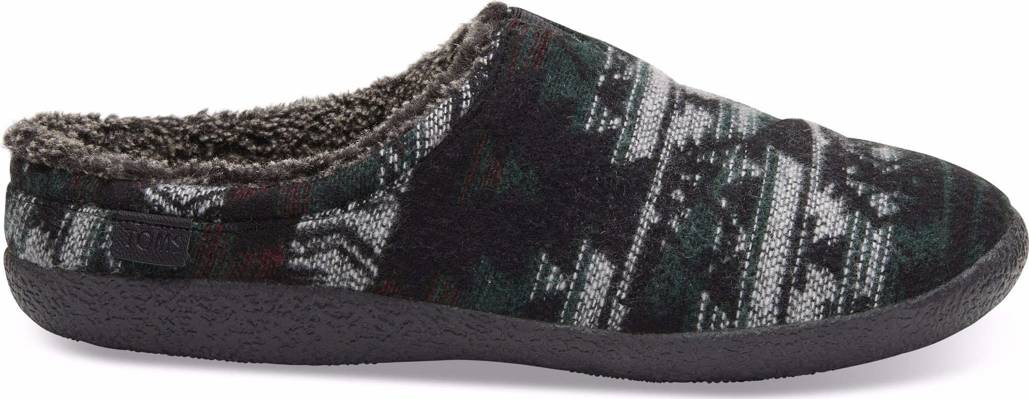 926755b519a TOMS Tribal Wool Men S Berkeley Slipper Forest ...