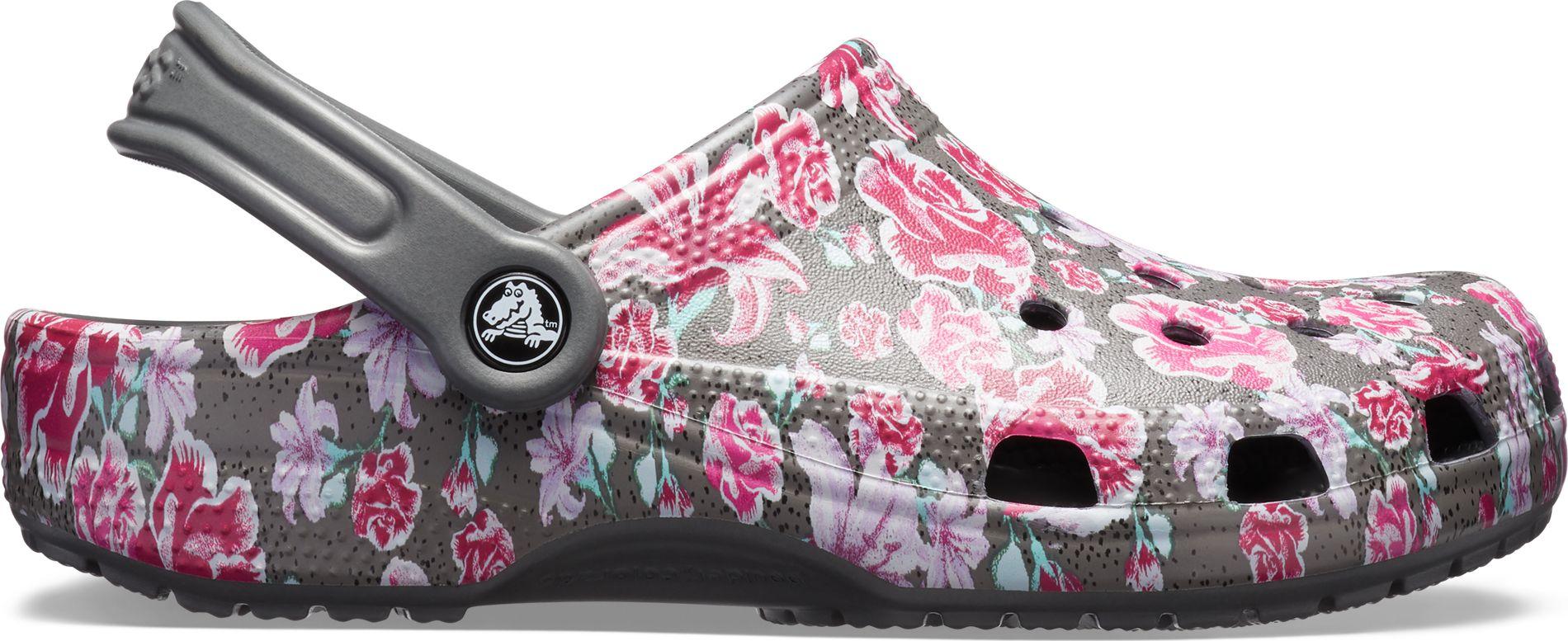 1b0a55988bf95 Crocs™ Classic Graphic II Clog Multi Floral Slate Grey ...
