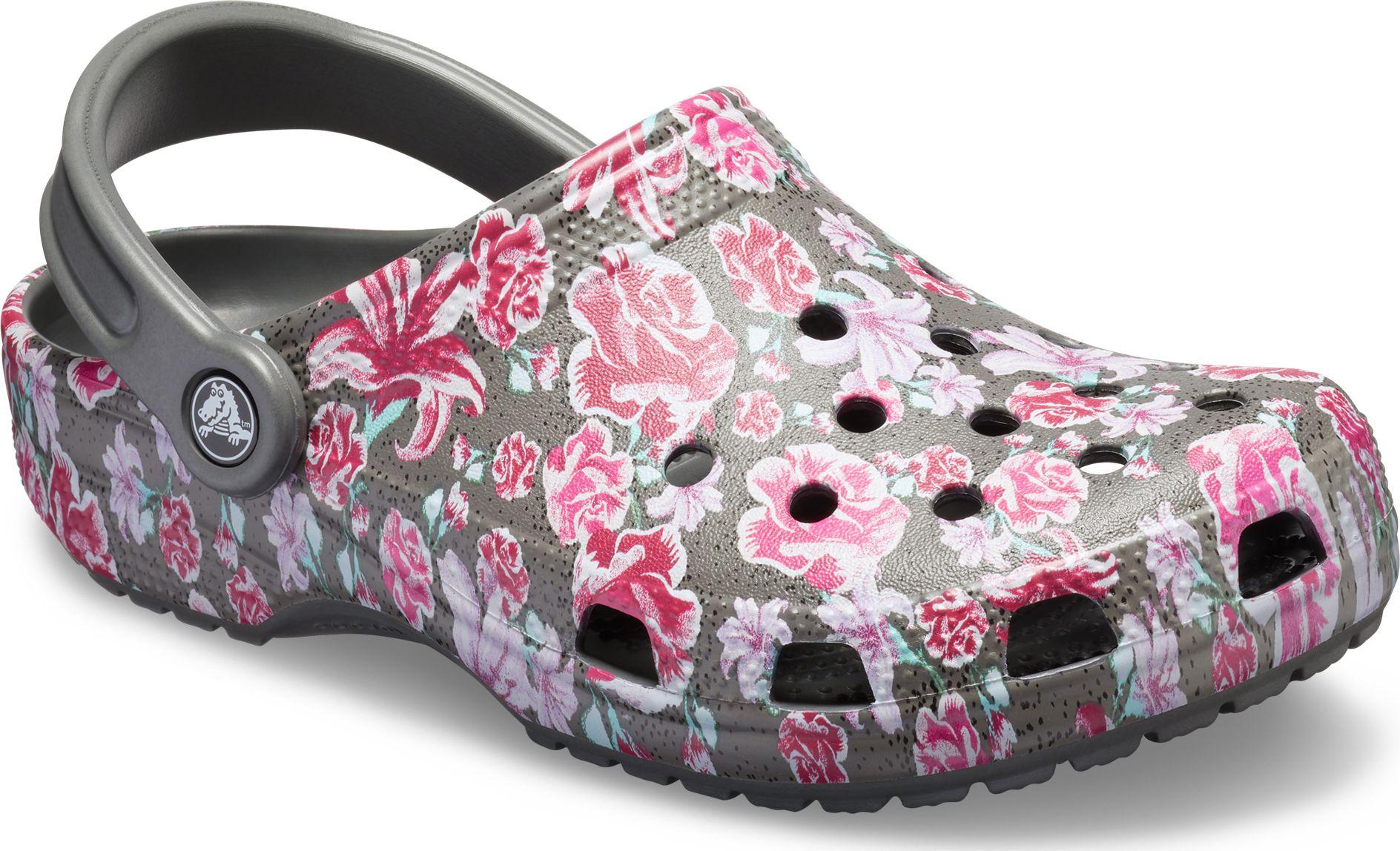 ecc27a6fb7b0a ... Crocs™ Classic Graphic II Clog Multi Floral Slate Grey ...