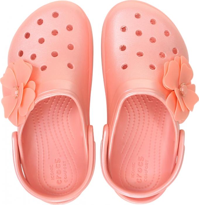 68a5e1db6c Previous. Crocs™ CB Platform Vivid Blooms Clog ...