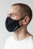 AUDIMAS korduvkasutatav 3D mask Black
