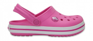Crocs™ Kids' Crocband Clog Party Pink