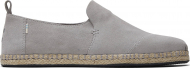 TOMS Suede Men's Deconstructed Alpargata Rope Grey